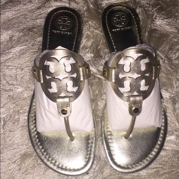 da2fd7c0058fd NWT Tory Burch Miller Sandals